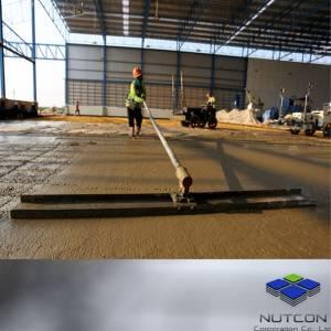 งานปาด Laser Screed Steel Fiber