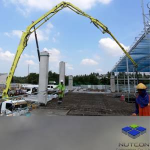 บริการ Concrete Pump